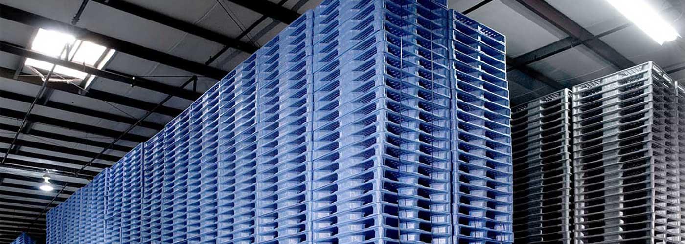 حمل و نقل مدرن کالاها توسط پالت  پلاستیکی